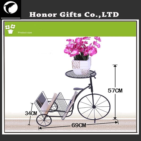 Modedesign schmiedeeisen fahrrad pflanzenbestand dekoration fahrrad blumenst nder blumentopf und - Dekoration fahrrad ...