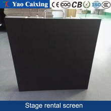 512*512mm 32scan Interior full-color stage LED display P4 Die-casting aluminum hd rental display ,62500dots/m2