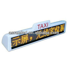 hot products advertising taxi roof signs for sale