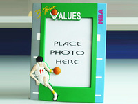 Basketball Club Custom Rubber Photo Frame For Promotion