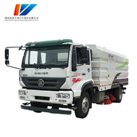 Factory direct sale high Efficient hydraulic Street sweeping Used Sewage Suction truck