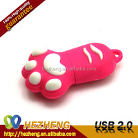 Waterproof 4GB Animal Foot USB Flash Drive