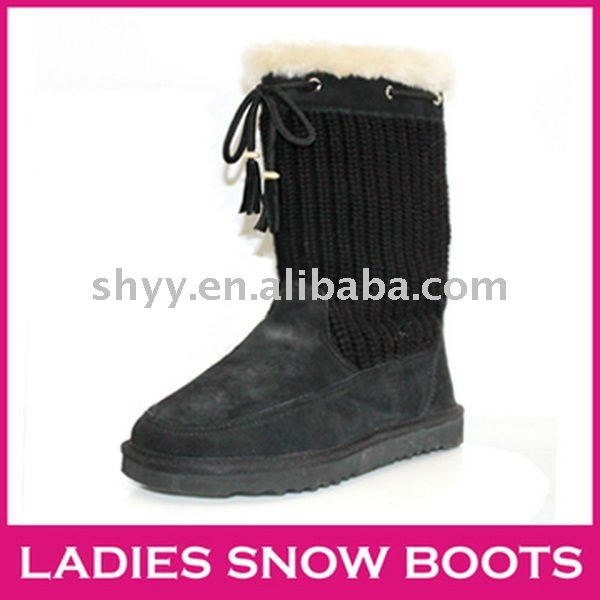 Classic Cardy boots Hot snow boot newest style knitted boots