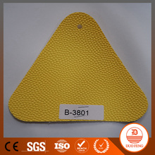1.80mm thick embossed pattern PVC leather for basketball in coated backing