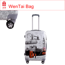 China Luggage Factory USB Charger hard case luggage, smart luggage bag