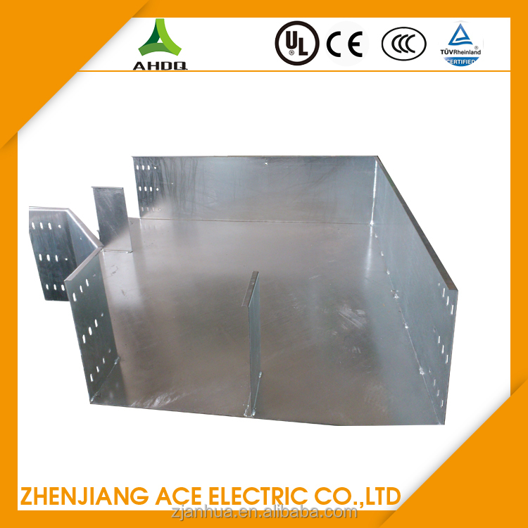 Galvanized Horizontal Bend Cable Trunking Metal For Easy Assembling