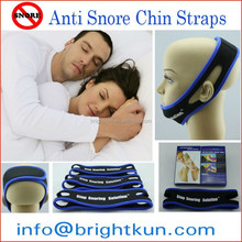 Lowest Price Full head jaw support anti snoring chin strap solution