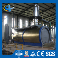 High safety use lube oil purifying system for diesel grade oil