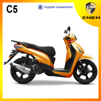 ZNEN MOTOR-C5 big tire gasoline scooter patent design with EEC,EPA and DOT certification popular sell in European 16' tire