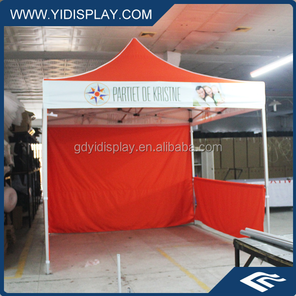 3mx3m aluminum folding tent,high quality outdoor quick folding tent