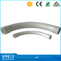 YOUU Australian Suppliers Smooth Surface 45 Degree PVC Plastic Pipe Bend