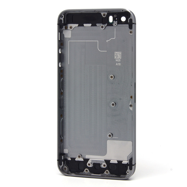Factory price housing replacement for iphone 5s black color