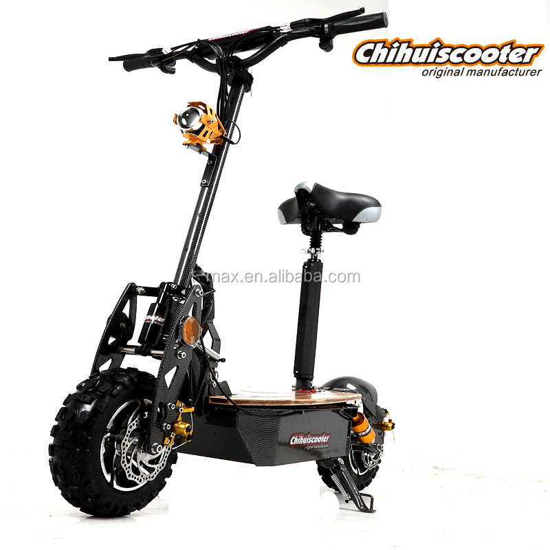 2000w 2 Wheel High Speed Motor Scooter Electric Scooter