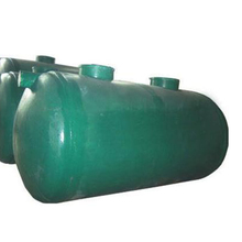 FRP Fiber Reinforced Plastic biogas Septic Tank For Wastewater Treatment