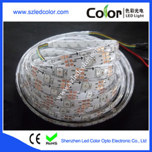 magic ws2812b ic built-in 30/60/72/144led per meter full color flexible 5050 smd led strips
