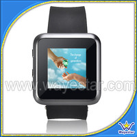 1.5 inch Single Camera Watch Mobile Phone with Bluetooth FM A-GPS