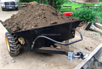 Dumping Trailer for Rock Soil Concrete and Wood Waste