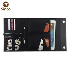 Universal multifunction folder PU leather phone case for ipad