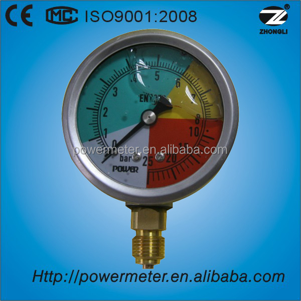 manometro china psi gauge lpg gas gauge oil filled pressure gauge pressure measuring instruments