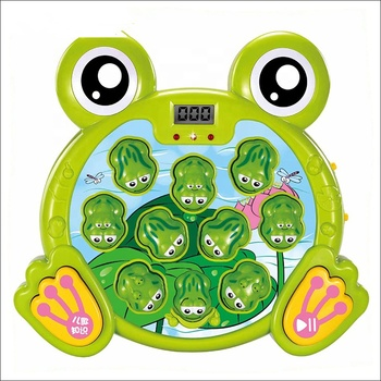 Educational Toy Frog Whack a Mole Game with Light and Music