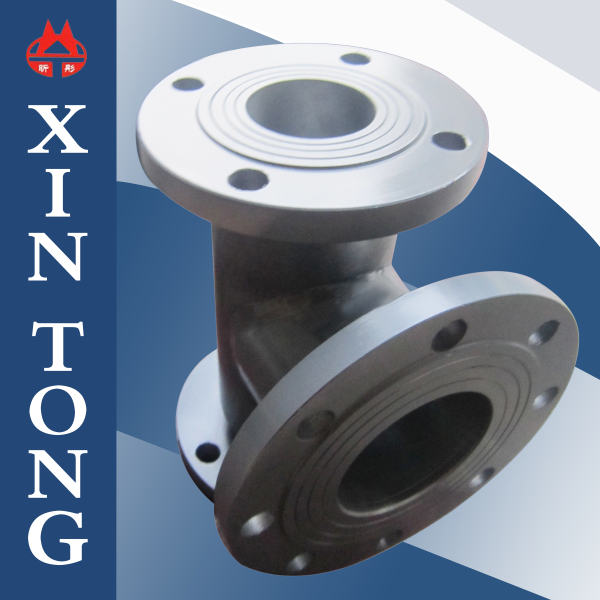 Water/Oil/Air rotary joint with flange