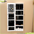 Wall mount mirror jewelry cabinet armoire storage organizer by Goodlife