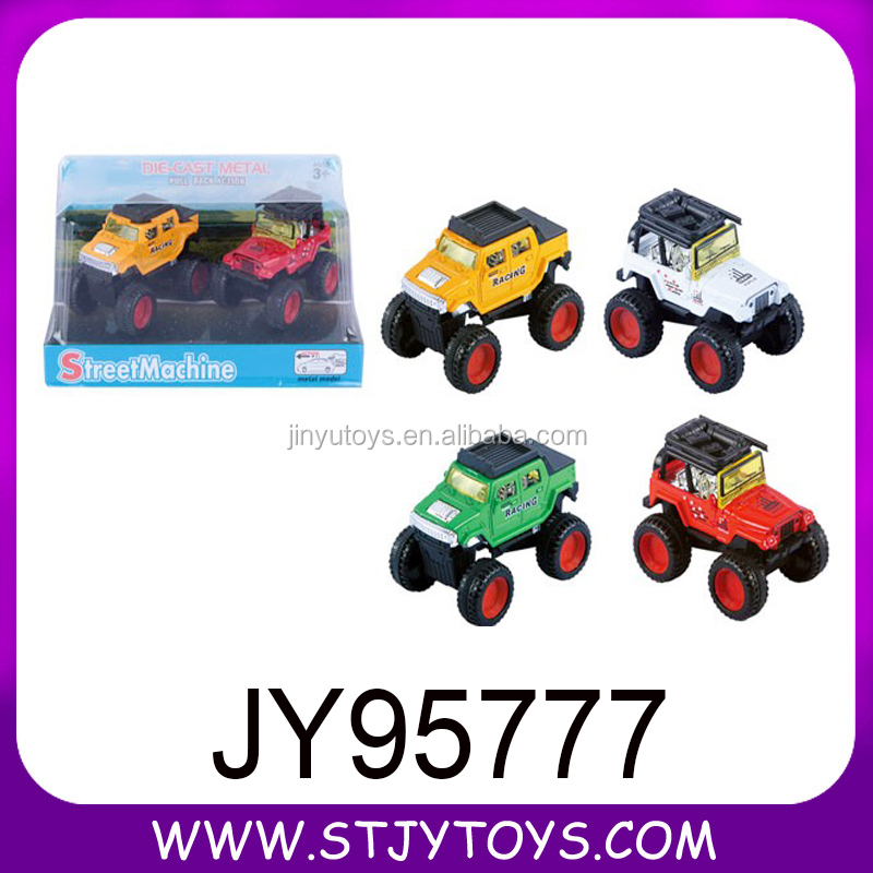 Children jeep model toy car mental alloy car for sale