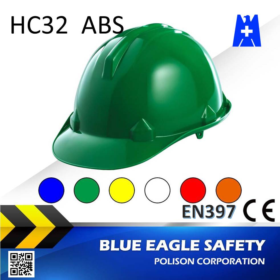 Blue Eagle HC32GN abs en397 industrial safety helmet