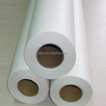 Fast Dry 126'',72'',64'',54'',44'' 90 gsm sublimation paper roll for sublimation fabric