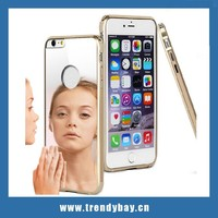 imak newest series cell phone for iphone case with mirror for iphone 6 plus