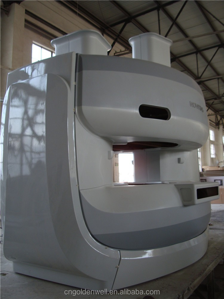 fiberglass 0.7T MRI machine shell