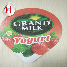 different size juice yoghurt cup aluminum foil lid