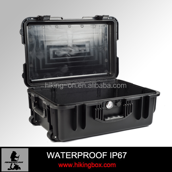 600*425*255mm Injection mold waterproof hard plastic cases