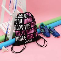 Top quality best sell gift gym sack nylon drawstring bag