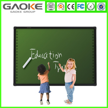 Dual touch infrared small electronic whiteboard