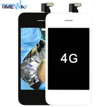 China best quality front and back screen protector for iphone 4 4s