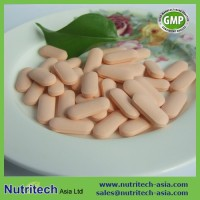 Oem contract manufacturer Chewable Vitamin C 500mg with Rose Hips tablets in bulk