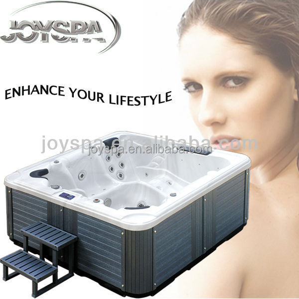 Cheap outdoor spa used pop up hot tub speakers