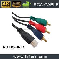 Xerxes 3 rca to hdmi Converter Adapter cable