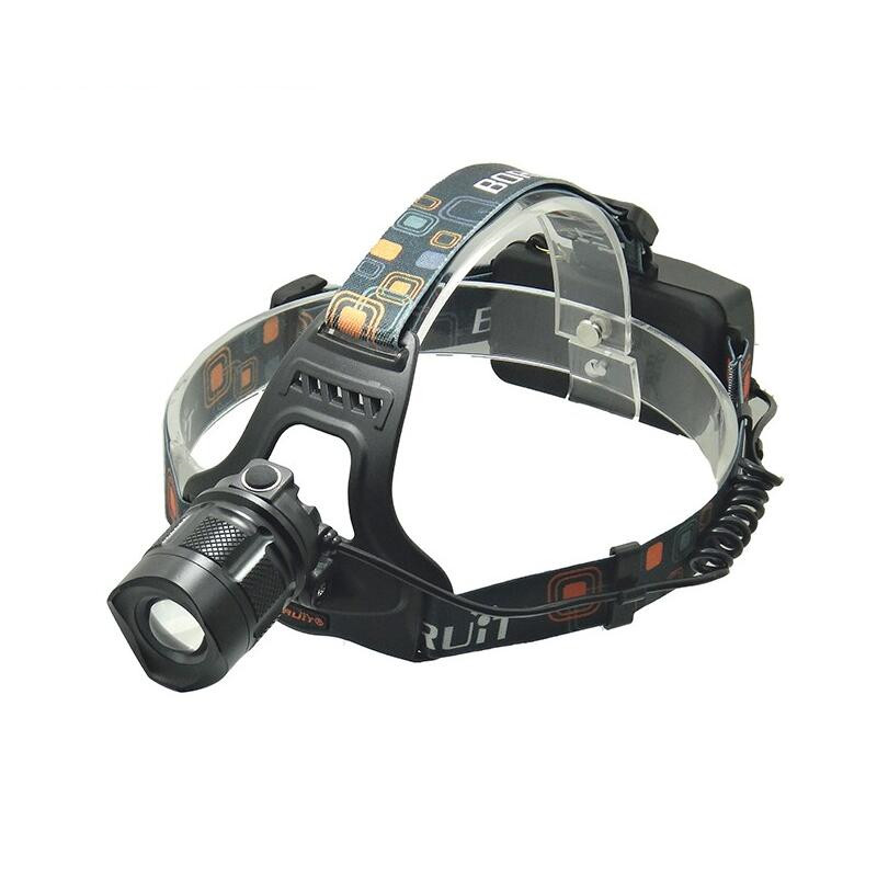 High Power Boruit RJ-2157 2000LM Led Headlamp Flashlight forehead Torch XML <strong>L2</strong> 5 Modes Zoomable with Charger for Fishing Camping