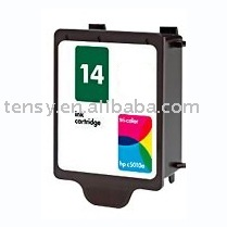 remanufactured printer ink cartridge compatible for HP14 (C5010)