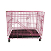 Wholesale powder coating iron wire cat cage for the luxury cat house
