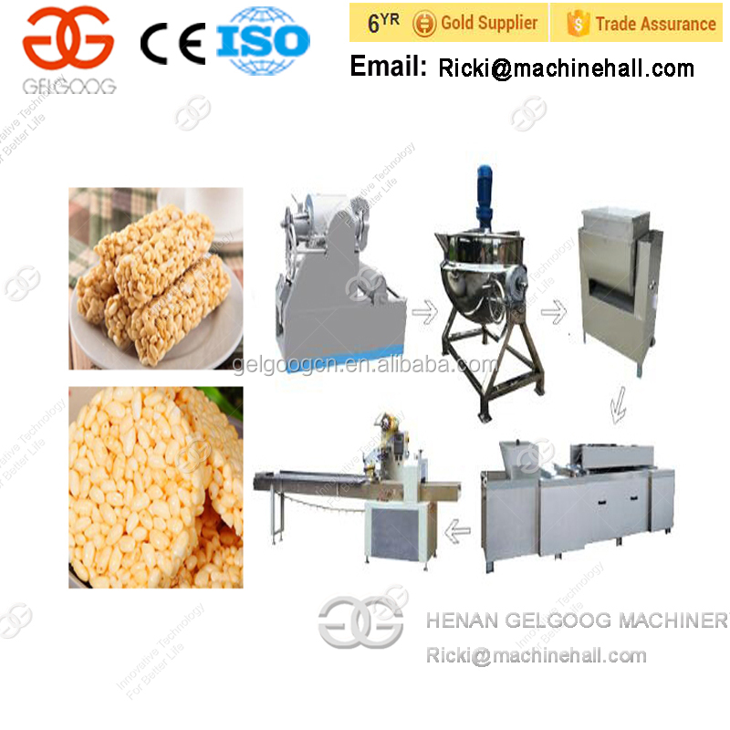 2017 Commercial Automatic Peanut Snack Bar Making Machine/Cereal Bar Maker