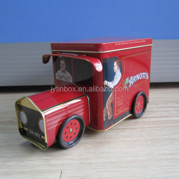 new design toy gift car/train/bus metal box for storage