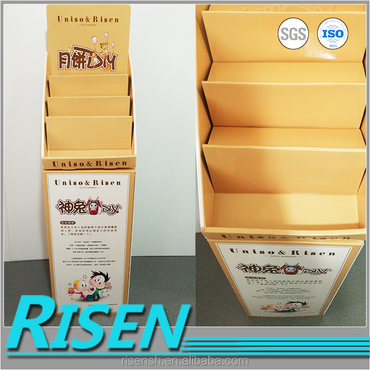 wholesale quality display for customized graphics, golden pie display