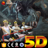 Real experience 3d 4d 5d 6d cinema theater movie system suppliers equipment