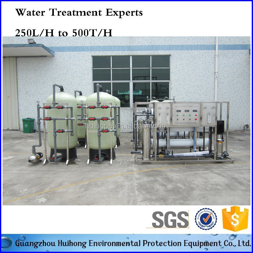 Factory Price 3000L Activated Carbon filter RO System Mineral Water Purifier