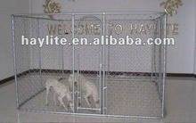 Outddor welded mesh chain link dog kennel