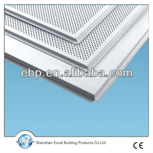 Clip-in plain aluminum ceiling panel