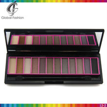 Accept private logo small eyeshadow palette 12 colors eye shadow